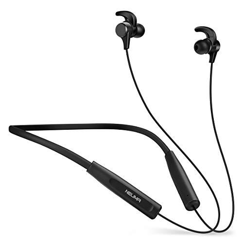 NEUMA Bluetooth Kopfhörer Wireless Kopfhörer In Ear Ohrhörer Noise Cancelling Headsets (12 Stunden Spielzeit, aptX, Hallo-Fi Stereo, Magnetisch)