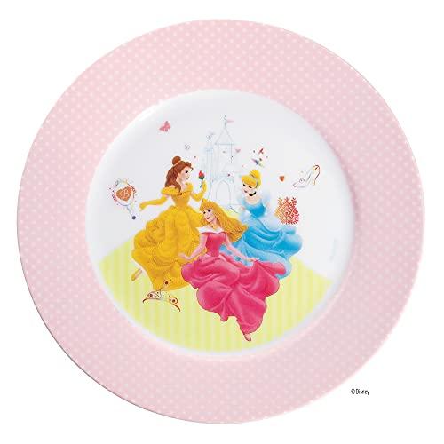 WMF Disney Princess Kindergeschirr Kinderteller 19 cm, Porzellan, spülmaschinengeeignet, farb- und lebensmittelecht