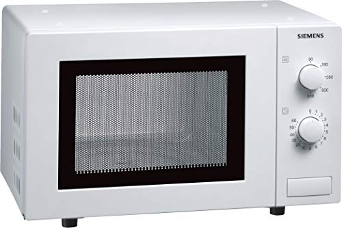 Siemens HF12M240 iQ100 Mikrowelle / 17 L / 800 W / Weiß / 5 Leistungsstufen / Innenbeleuchtung
