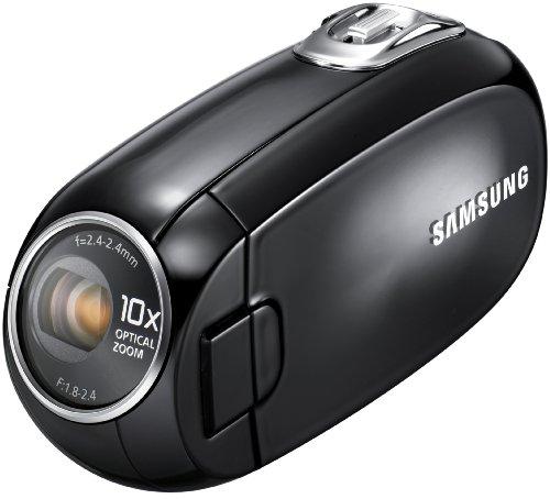 Samsung SMX-C20 Camcorder (10-fach optischer Zoom, 6,85 cm (2,7 Zoll) LCD-Display) schwarz