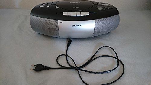CD-Player- & -Recorder-Kombination (Schwarz/Grau)