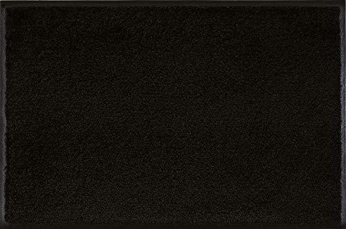 wash+dry Fußmatte, Raven Black 50x75 cm, innen und außen, waschbar