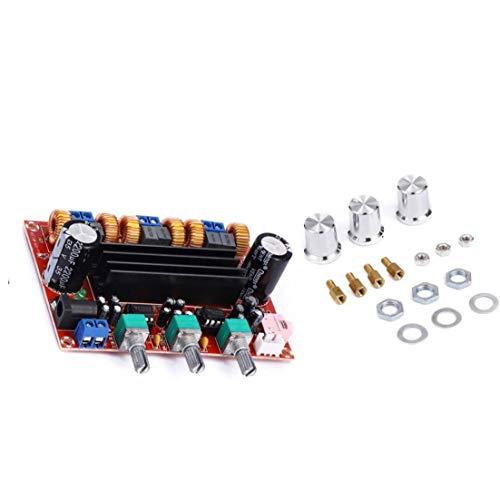 EElabper Digital-Audio-Verstärker-Brett 2.1-Kanal Subwoofer Power Amp Modul Xh-M139 Tpa3116d2 2x50W 100W 12-24V