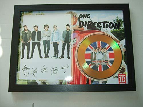 One Direction signierte Mini-Disc.