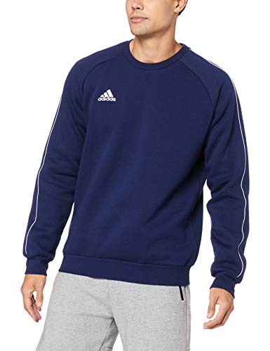 adidas Herren Core 18 Sweat Trainingstop, Dark Blue/White, L