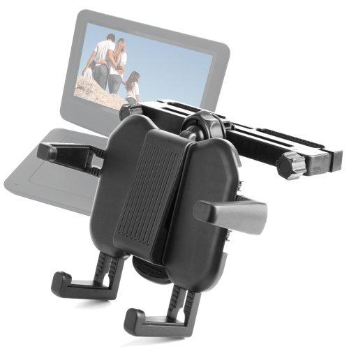Verstellbare Halterung für Auto-Kopfstütze, für portable DVD Player D-jix PVS 902-76L HD, Bildschirm 9 Zoll (drehbar, &PVS 705-79CBC 7 Zoll