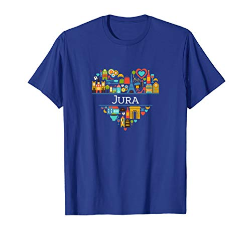 I Love France: Jura   Jura, French Pride T-shirt