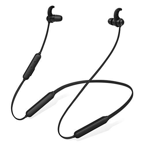 Avantree Bluetooth Nackenbügel Kopfhörer für TV PC, 20 Std. Magnetische Wireless Ohrhörer mit Mikro, Keine Verzögerung, Kompatibel mit iPhone Handys Musik & Anrufe Leicht & Komfortabel - NB16
