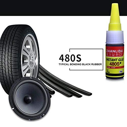 Reifenreparaturkleber Balight 1 STÜCKE 480 S Super Kleber Auto Gummi Reparatur Reifen Kleber Fenster Lautsprecher Dichtung Reifenreparaturkleber