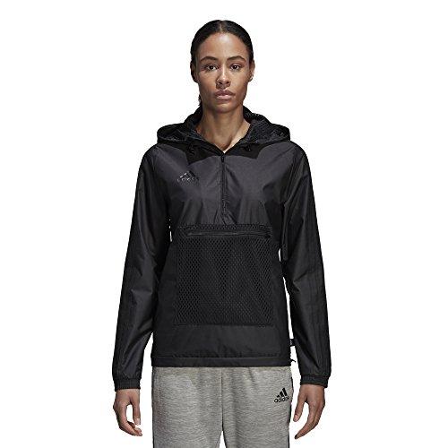 adidas Damen Soccer Tango Windbreaker Jacke, schwarz, X-Large