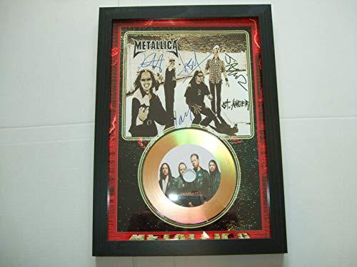 Metallica signierte Mini-Disc.