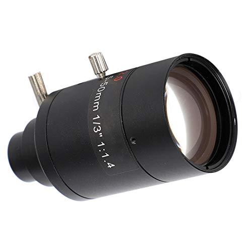 Manuelles Objektiv mit geringer Verzerrung, Anpassung an die meisten Überwachungskameras mit hohem Zoom
