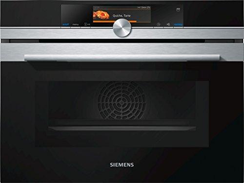 Siemens CN678G4S6 iQ700 Home Connect iQ526 Mikrowelle / 1000 W / 45 L Garraum / activeClean - Selbstreinigungs-Automatik / edelstahl