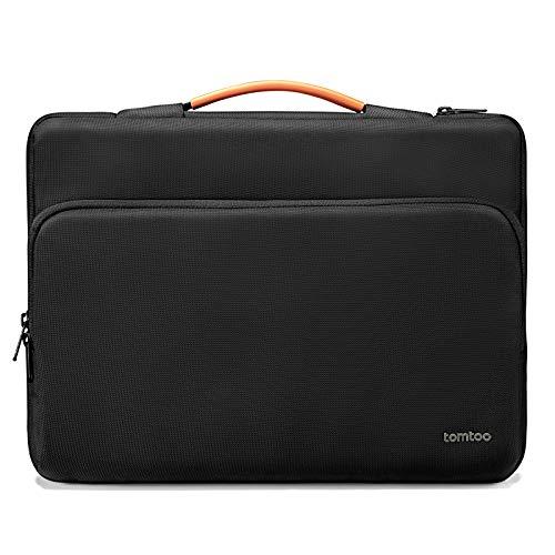 tomtoc Recycelt Laptop Tasche für 13,5' Surface Laptop 4 2021, 13,3' Alt MacBook Air, 13' Alt MacBook Pro, 13,5' Surface Book, ASUS VivoBook 14, LincPlus P1 Laptop 13,3, Notebook Hülle Aktentasche