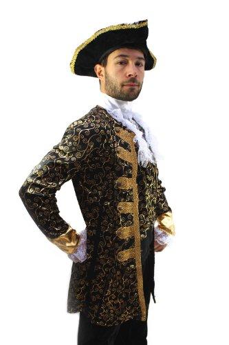 Dress Me Up Kostüm Edelmann Pirat Kapitän Barock Herren Gr. 48