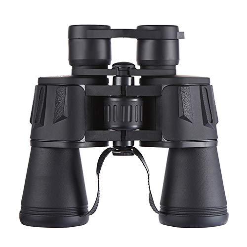 DKEE 20X50 Hochleistungs-HD-Teleskop Mit Doppelröhre for Den Außenbereich Niedriger Lichtpegel Nachtsichtteleskopbeschichtung 10-fache Vergrößerung Weitwinkelobjektiv Mit Großem Durchmesser Und 61 Mm