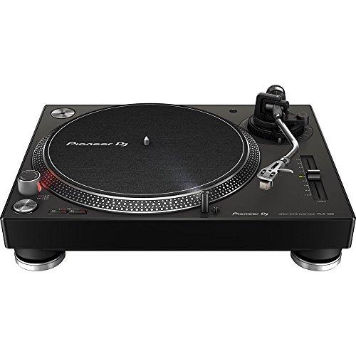 Pioneer DJ PLX-500-K DJ-Plattenspieler mit Direktantrieb, Schwarz