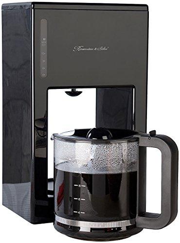 Rosenstein & Söhne Filterkaffeemaschine: Moderne Design-Kaffeemaschine für bis zu 12 Tassen, 1.000 Watt (Filter Kaffeemaschinen)