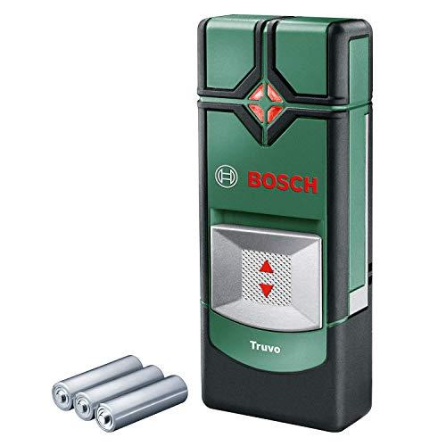Bosch Ortungsgerät Truvo (für Metall & stromführende Leitungen in 70/50 mm Erfassungstiefe; Kartoninhalt: Truvo, 3x AAA Batterien, in Dose)