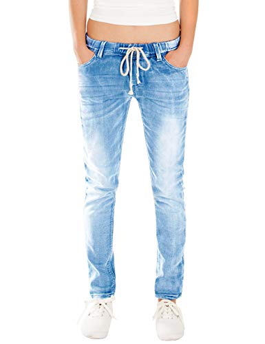 Fraternel Damen Jeans Hose Relaxed Loose fit Blau 3XL
