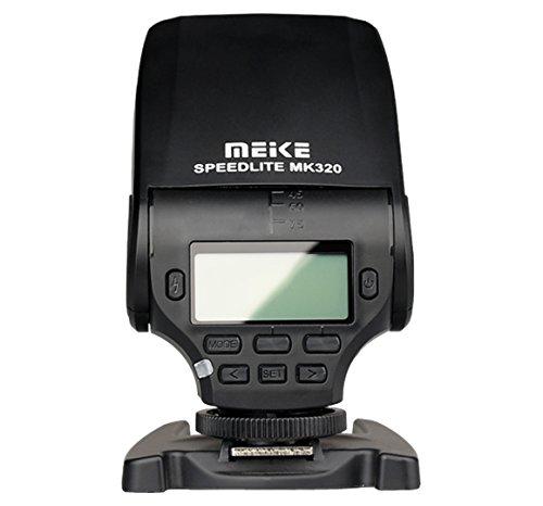 Meike MK-320 TTL Flash Speedlite for Panasonic Lumix DMC GF7 GM5 GH4 GM1 GX7 G6 GF6 GH3 G5 GF5 GX1 GF3 G3 Etc.