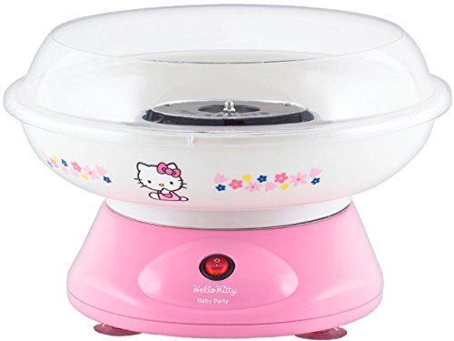 Beper hk-d429W Zuckerwatte-Maschine, Motiv Hello Kitty