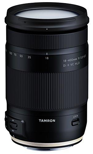 Tamron Ultra-Tele-Megazoom B028E 18-400mm F/3.5-6.3 Di II VC HLD Objektiv für Canon schwarz
