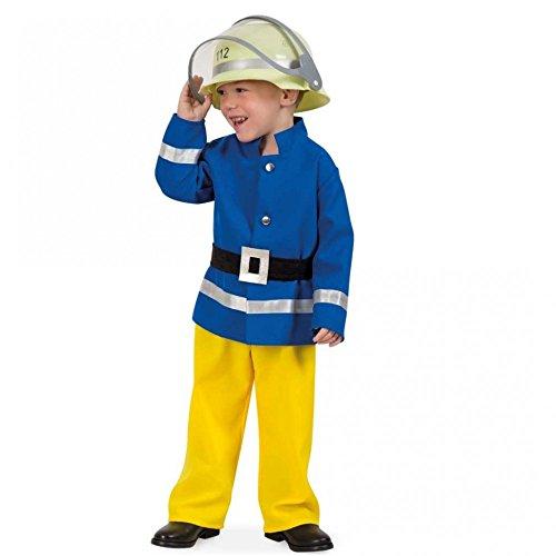 Fritz Fries & Söhne GmbH & Co-Anzug Feuerwehrmann Azul-Amarillo Gr. 104der Jacke einheitliche der Hose der Gurt des Feuerwehr