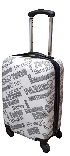 Trolley Travel Koffer Reisekoffer Hartschale Boardcase Handgepäck Kurzreise (City)