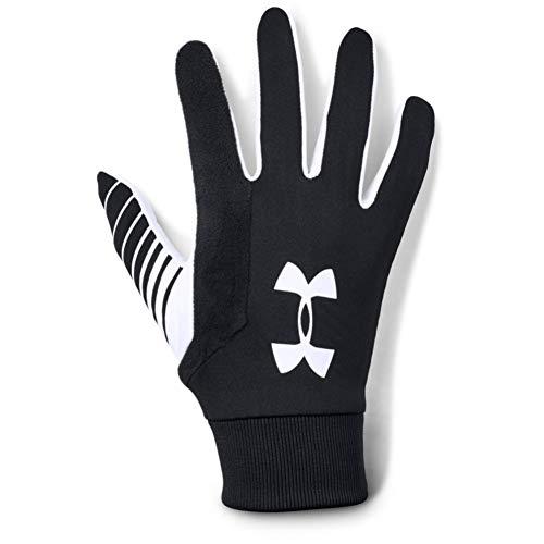 Under Armour Herren Field Player 2.0 Handschuhe, Schwarz, Medium