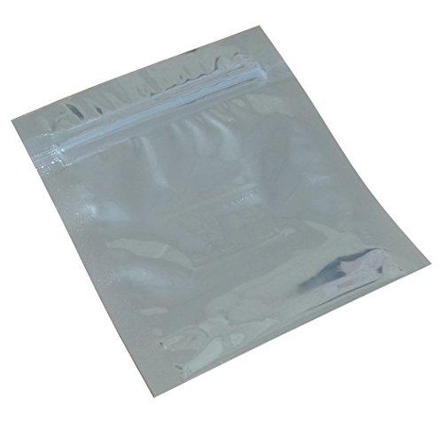 Aerzetix: 50 ESD antistatischen Zip-Beutel Druckverschlussbeutel 76/80mm 76µm C17866