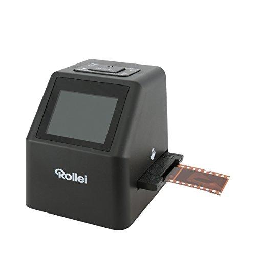 Rollei DF-S 310 SE Dia Film Scanner (Special Edition mit extra Zubehör, SD-/SDHC-Karten Steckplatz und USB 2.0 Schnittstelle) schwarz