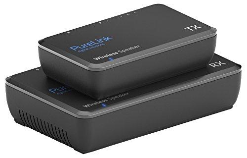 PureLink CSW600 Funkübertragungs- und erweiterungssystem für Lautsprecher, max. Reichweite: 15m, Schwarz