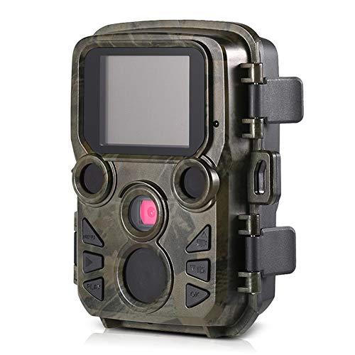 MSQL Spielekameras, HD-Wasserdichte Wildlife-Jagd-Cams, 2,0'-LCD-Display, Nachtsicht bis zu 65 m, IP66-Wasserdicht, Video-Jagd-Game-Überwachungskamera