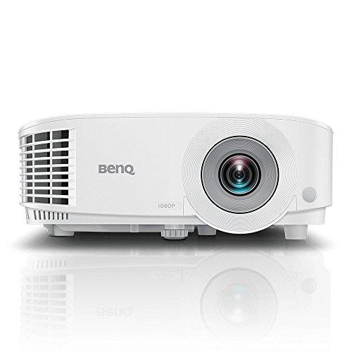 BenQ MW550 DLP-Projektor (WXGA, 1280 x 800 Pixel, 3.600 ANSI Lumen, HDMI, 20.000:1 Kontrast, 3D), Weiß, M353357