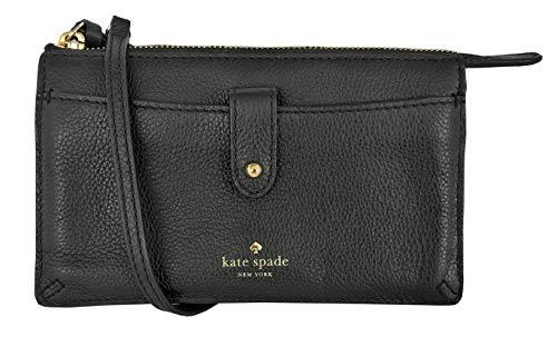 Kate Spade New York Alegra Larchmont Avenue Leather Crossbody Clutch