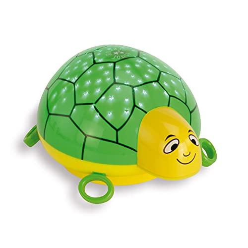 ANSMANN Sternenlicht Projektor - Schildkröte Nachtlicht Sternenhimmel Projektor ideal als Einschlafhilfe für Baby & Kinder - LED Schlummerlicht mit Farbwechsel als Kinderzimmer Deko