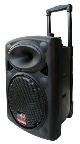 E-Lektron EL25-M 500W mobile PA Sound Anlage Akku-MP3-USB-SD inkl. Funkmikrofon Soundsystem