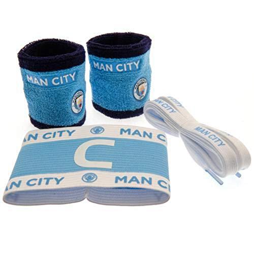 Manchester City FC Zubehör-Set, Einheitsgröße, Blau