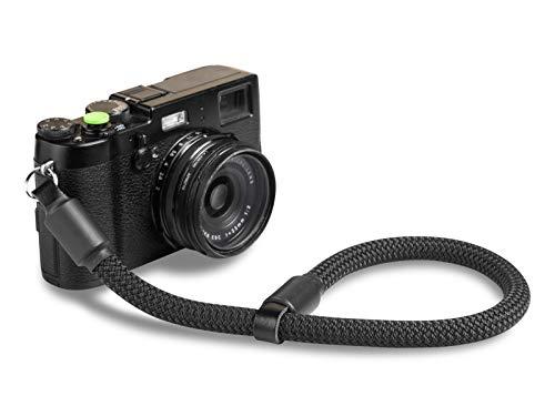 ROPSTER Kamera Handschlaufe aus stylischem Bergsteiger Seil - Universal DSLR SLR Kameraschlaufe für Nikon, Canon, Sony, Olympus, Fuji UVM. - Foto Handschlaufe, Handgurt Kamera, Camera Wrist Strap