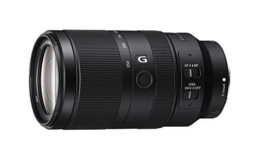 Sony SEL-70350G Tele-Zoom Objektiv (70-350 mm, F4.5-6.3, OSS, APS-C, geeignet für A6600, A6500, A6400, A6300, A6100, A6000, A5100, A5000 und Nex Serien, E-Mount) schwarz