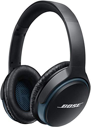 Bose SoundLink, kabellose Around - Ear - Kopfhörer II, (Bluetooth mit verbesserter aktiver EQ), Schwarz