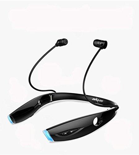 Marxways Drahtlose Kopfhörer Bluetooth Sportkopfhörer IPX7 Wasserdichtes Nackenbügel-Headset In-Ear-Kopfhörer 3EQ-Einstellungen mit Magnetanschluss Kopfhörer für den Betrieb des eingebauten Mikrofons