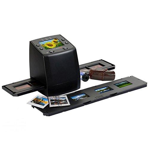 Technaxx DigiScan DS-02 Scanner für Negativfilme und Diafilme (SD-Kartenslot, 6,1 cm (2,4 Zoll) TFT-Display, USB 2.0)