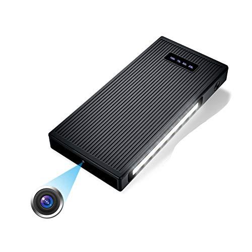 10000mAh Tragbare Kleine Überwachungskameras 1080P Kamera mit Nachtsicht Bewegungserkennung Nanny-Videokamera Schwerkraftsensor Loop-Aufnahme (32 GB integriert)