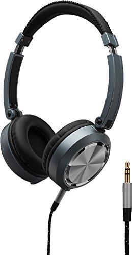 MONACOR MD-460 Design-Stereo-Kopfhörer, Offenes System, Ohrmuschel zusammenklapp- und drehbar, gepolsterte Ohrkissen, Kopfauflage, sehr gute akustische Performance