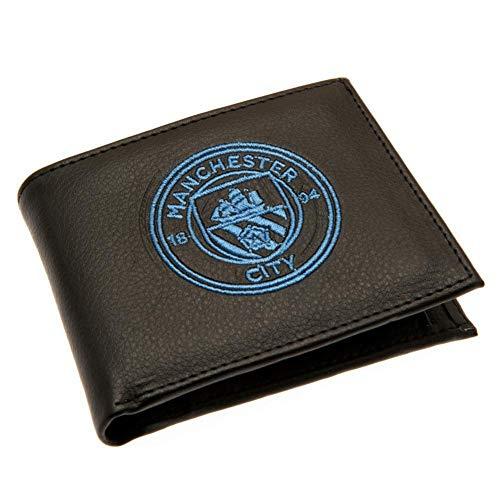 Manchester City FC Geldbörse, bestickt, Vereinswappen
