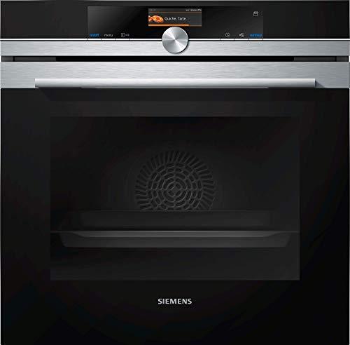 Siemens HS636GDS2 iQ700 Dampfbackofen / A+ / softMove-Türe / Bratenthermometer Plus / 4D Hißluft / LED Beleuchtung / TFT-Display / Edelstahl