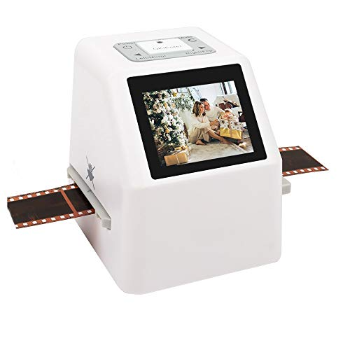 YBZS 2.4' LCD Hohe Auflösung 22 MP 35mm Negativfilm Scanner 110 135 126KPK Diafilm Fotoscanner Digital Film Converter