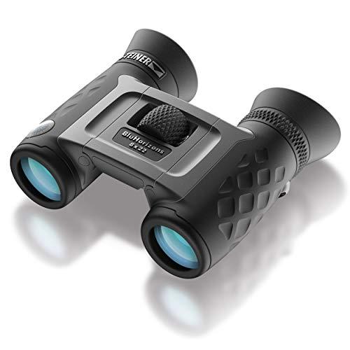 Steiner BluHorizons 8x22 Fernglas - einzigartige Linsentechnologie, Schutz der Augen, kompakt, leicht - ideal für den Urlaub in sonnigen Ländern, Outdoor-Aktivitäten und Sport
